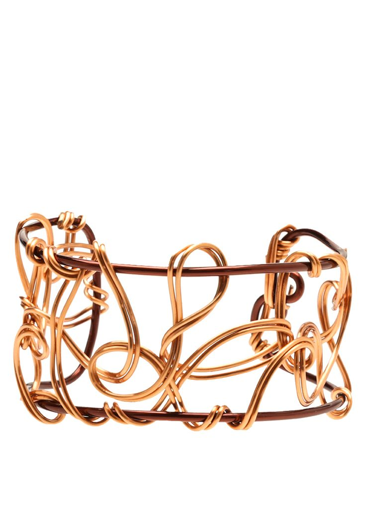 Timeless Dream Cuff Bangle. Dream Cuff bangles are woven dreams crafted into life. Feel free to dream, as we set the stage of woven rose gold and earthy red dark copper into a classic timeless design for you to enjoy.
