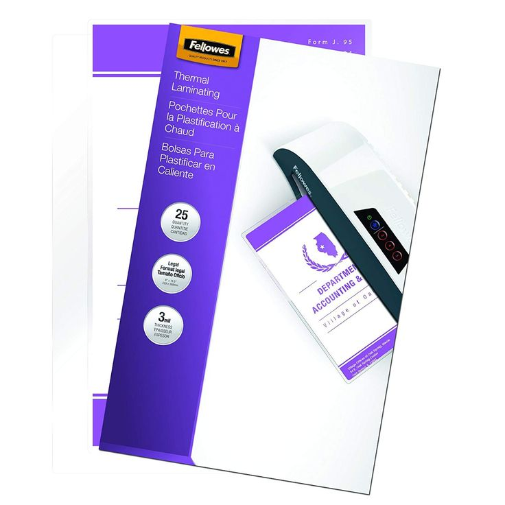 Fellowes Laminating Pouches Thermal Legal 3 Mil 25 Pack 52006 For More Information Visit Image Link This I Fellowes Valentines Coupons Glue Crafts