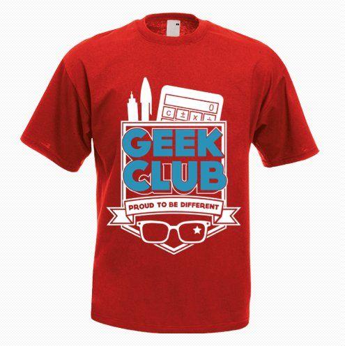 Geek and Proud Funny T-Shirt - http://goo.gl/KLFIOc