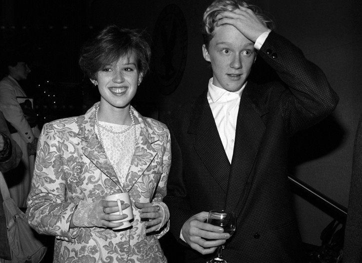anthony michael hall and molly ringwald relationship