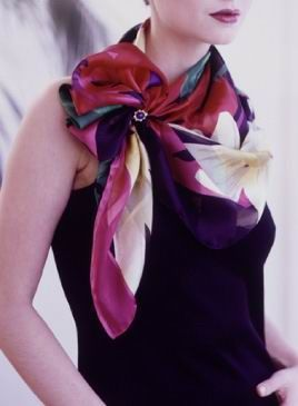 Ideas for tying scarves.