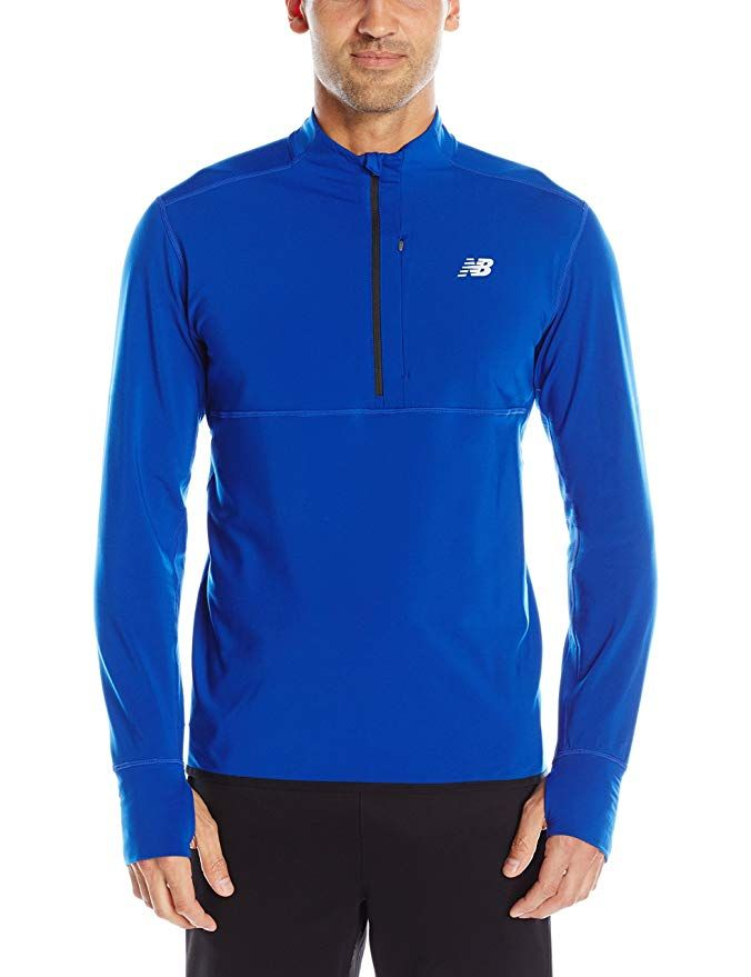 new balance heat half zip