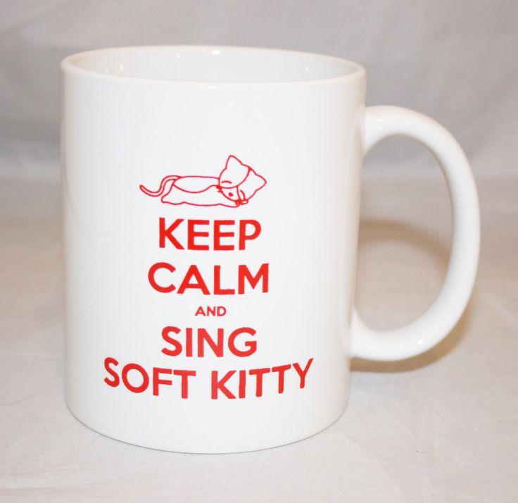 Soft Kitty, warm kitty, little ball of fur... #SheldonRules