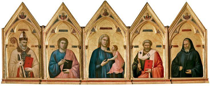 E' in corso a Palazzo Reale di Milano fino a fine ottobre, la mostra - evento di chiusura della stagione artistica milanese dell'anno di Expo, Giotto L'Italia.