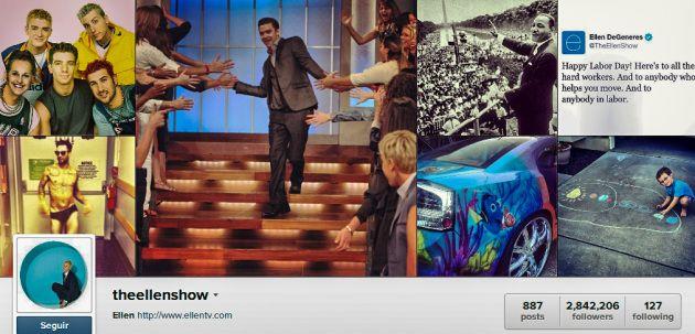 Instagram The Ellen Show