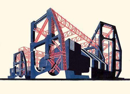 Iakov Chernikhov's Architectural Fantasies | Magical Urbanism
