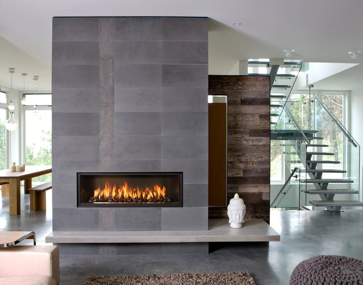 25 best ideas about modern fireplace decor on pinterest modern mantle modern stone fireplace - Build contemporary fireplace ideas ...