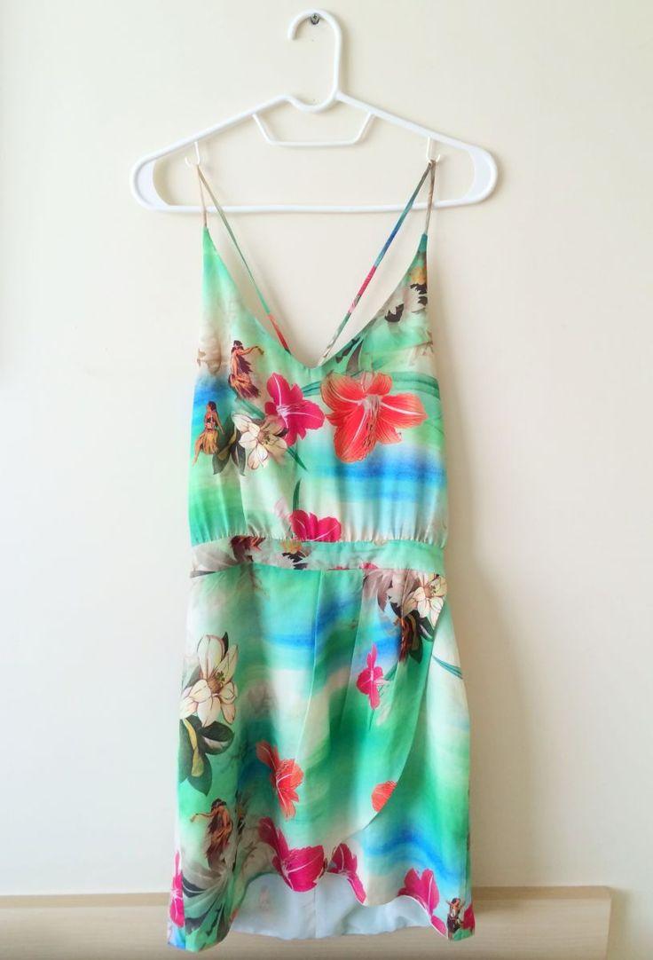 vestido hula-hula farm - vestidos farm