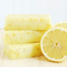 Como hacer jabones naturales de limón