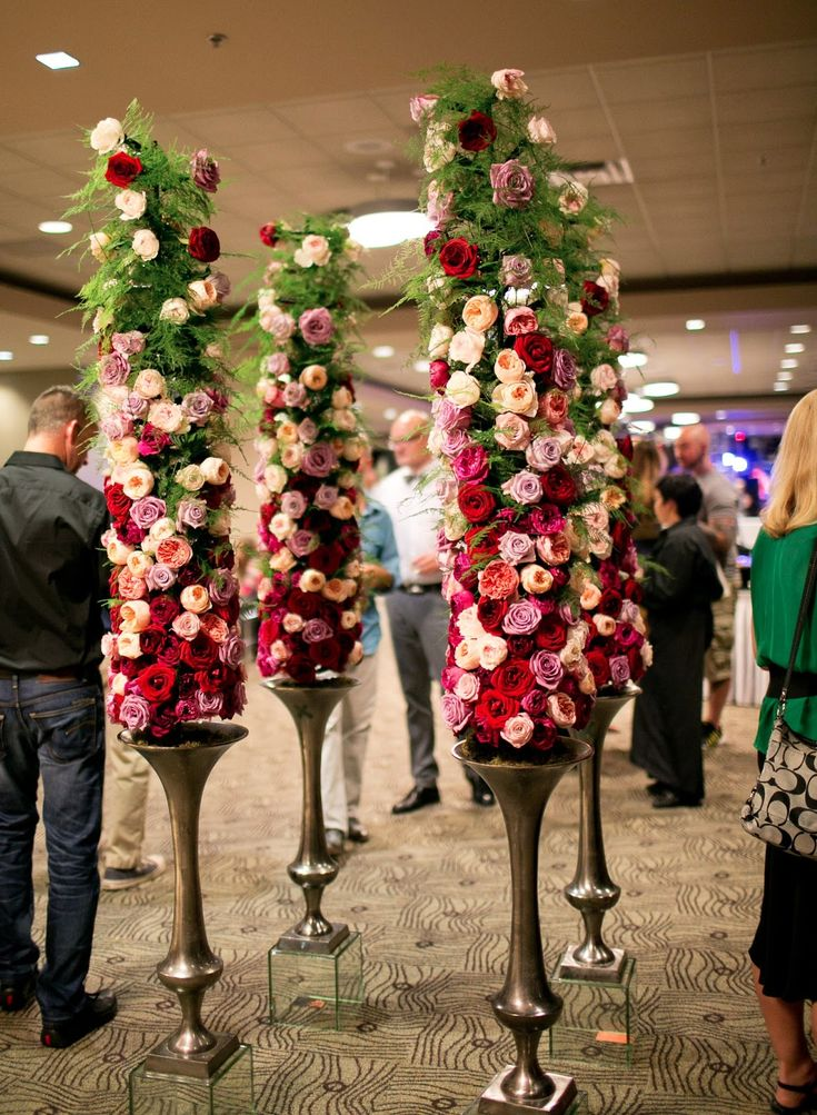 floral towers