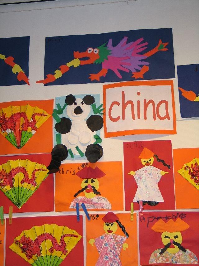 China knutselideeën