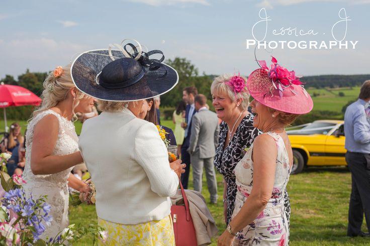 """Champagne & Smiles"" #wedding #marqueewedding #motherofthebride #yorkshire #yorkshirewedding #nidderdale"
