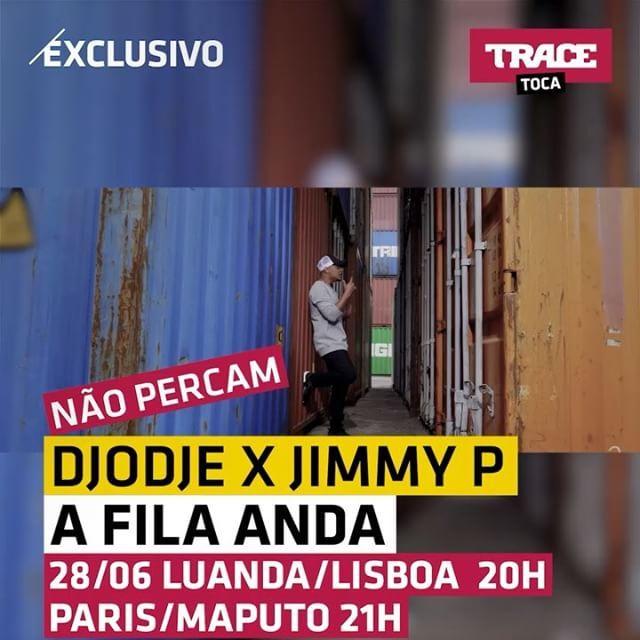 Não esqueçam hoje a estreia do novo vídeo do Djodje e Jimmy P 'A Fila Anda' em exclusivo no TRACE Toca ! Fiquem ligados ! TRACE Toca, a paixão da música ! . . . @djodje_sabboy @officialjimmyp @brodamusic #tracetoca #afilaanda #newsingle #apaixaodamusica #estreia #exclusivo #naopercam #gostamos