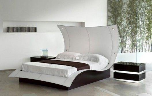 astounding modern furniture platform beds | Mega Butterfly bed by Reflex Angelo. Amazing!! | High ...