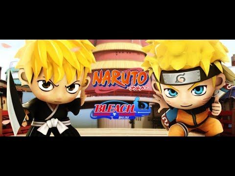 Bleach Vs Naruto fistfight video