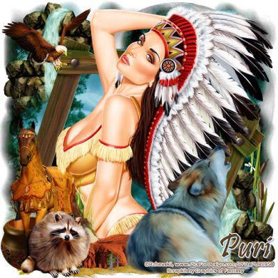 "MI RINCÓN GÓTICO: CT FOR GOF DESIGNS ""Indian Spirit New"""