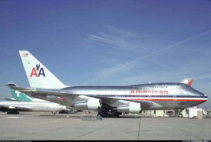 Freshly painted AA 747SP at Marana.Evergreen said they had trouble polishing N602AA due to damage from a sand storm.N602AA is right behind N601AA in this photo. - Photo taken at Marana - Pinal Airpark (Silver Bell AHP / Marana AFB / AAF) (MZJ) in Arizona, USA in March, 1987.
