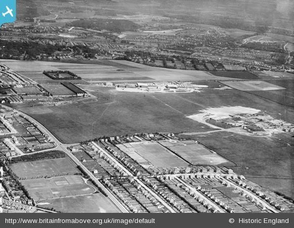 Croydon Aerodrome and environs, South Beddington, 1928