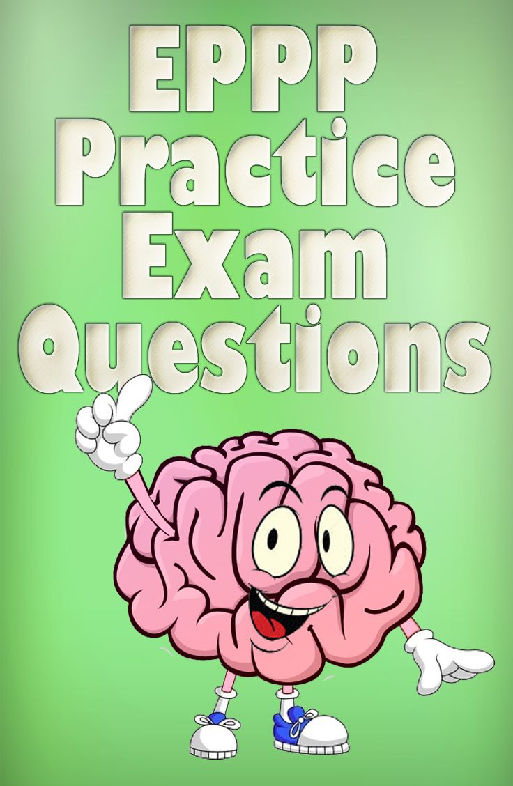 17 best eppp exam images on pinterest psychology study materials get ready for the eppp exam with free eppp practice test questions and prepare for the real thing raise your score by familiarizing yourself with the eppp malvernweather Choice Image