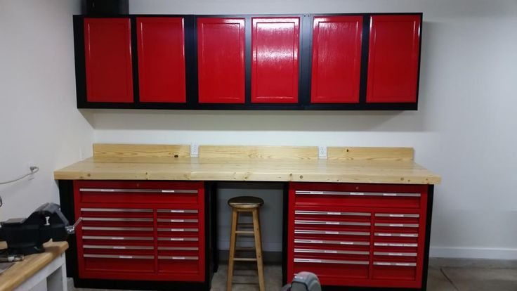 Another 44 Harbor Freight Tool Box Wood Workbench  The