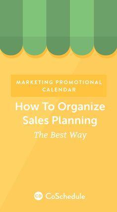 Before you start reading, grab your marketing promotional calendar Excel template: https://coschedule.com/blog/?p=41086&utm_campaign=coschedule&utm_source=pinterest&utm_medium=CoSchedule&utm_content=Marketing%20Promotional%20Calendar%3A%20How%20to%20Organize%20Sales%20Planning%20the%20Best%20Way