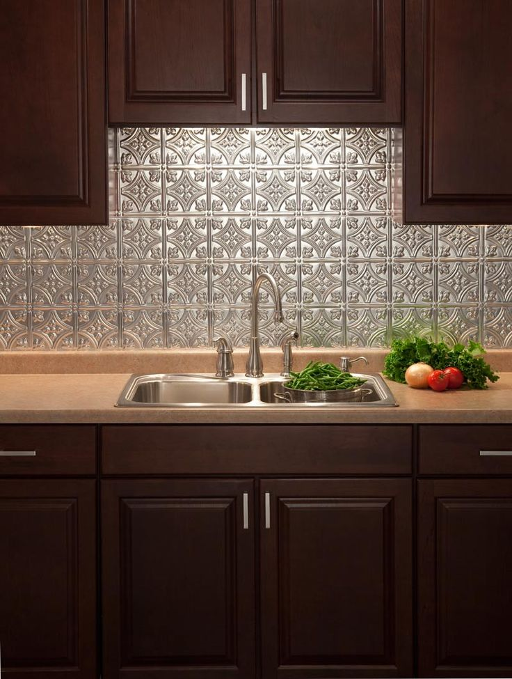 Traditional 1 Brushed AluminumKitchen Backsplash Good Looking
