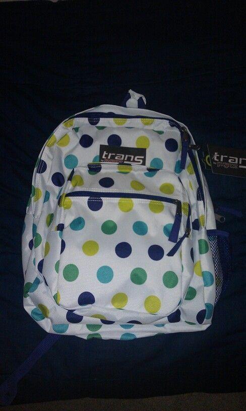 My new Trans by Jansport backpack! #backpack #jansport ...