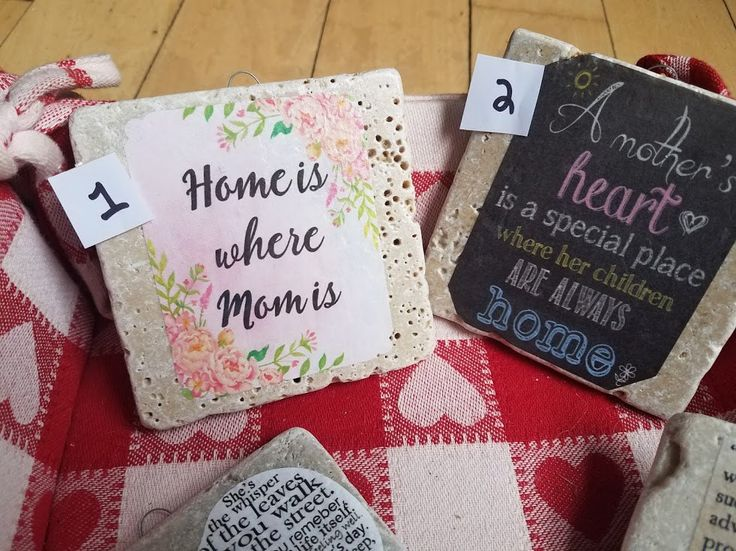 Unique Mothers Day Gift Mothers Day Coasters Gift for Her Gift for Mom Gift for Wife Custom Coasters Personalized Coasters Stone Coasters by HandtoHomeConcepts on Etsy