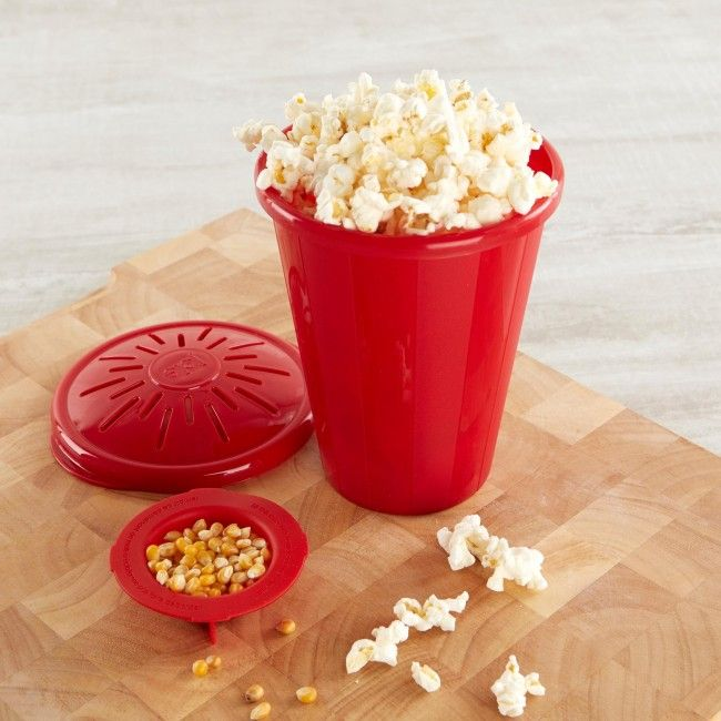Get poppin! Fast, fun and delicious microwave popcorn.