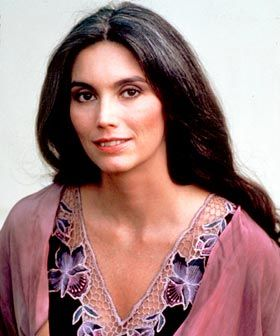 Emmylou Harris with her silver just beginning to show. She is my new role model!