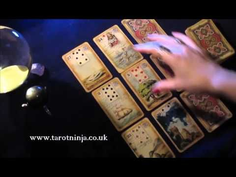 How to Read a Lenormand Box Spread - Future Predictions for Work - YouTube