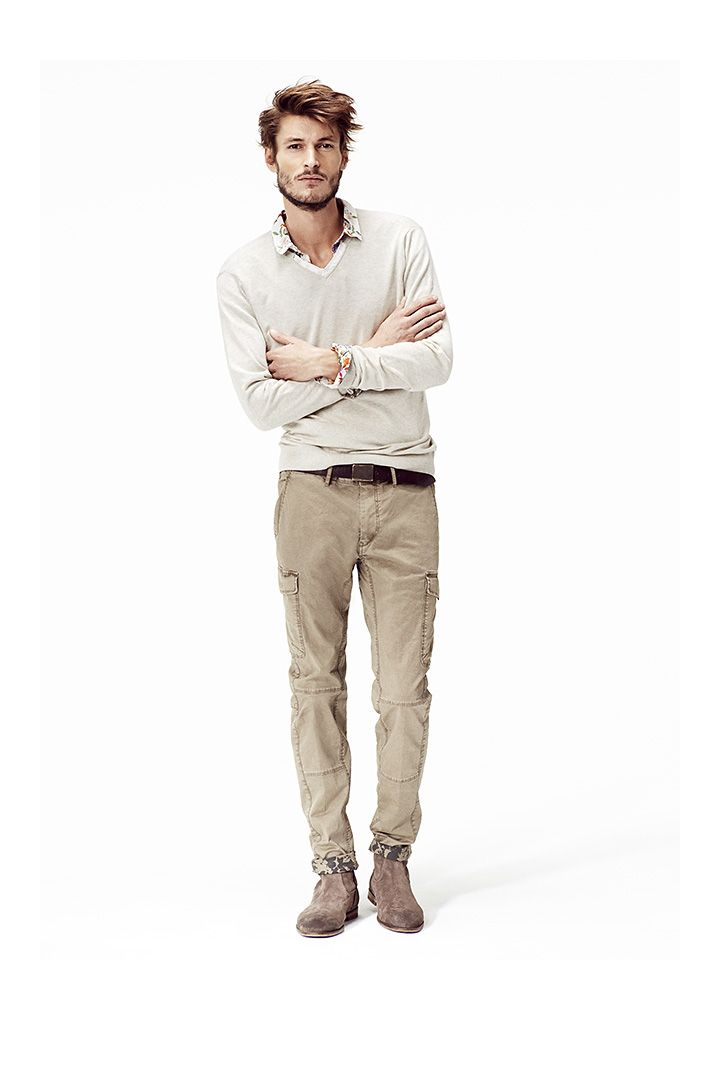 Vêtements homme IKKS : Chemise slim homme et pantalon battle