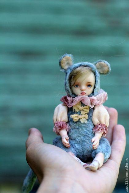 Тедди долл Незабудка #teddy #doll #artdoll #ooak #teddydoll