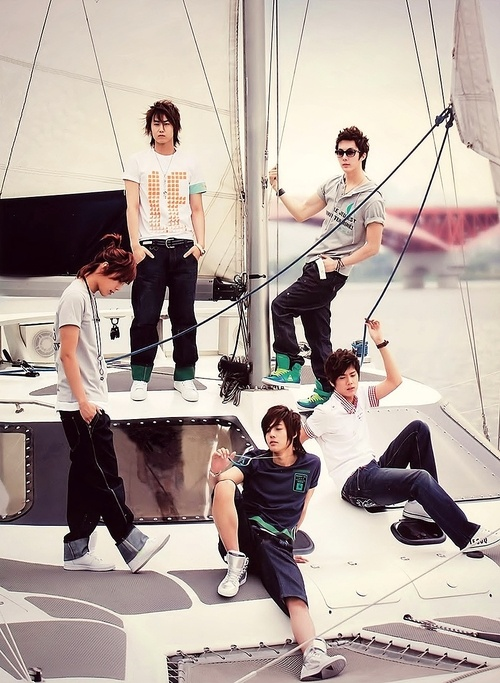 SS501 omg I wish they would make a comeback!!