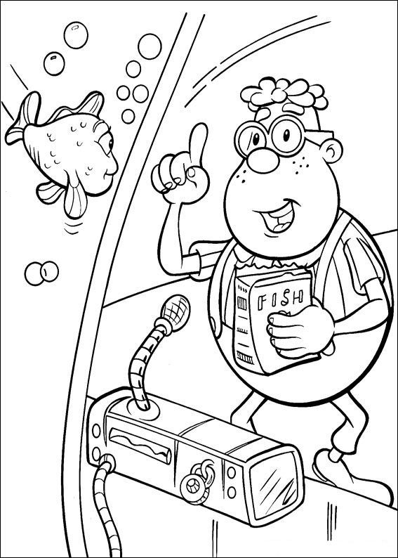 17 best jimmy neutron coloring pages images on pinterest