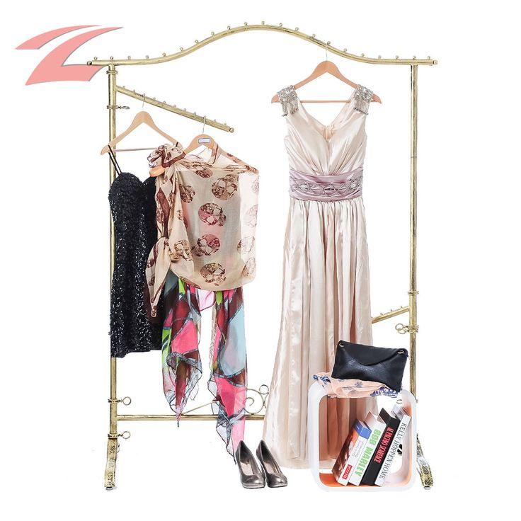 ZNL Hochwertiger Kleiderständer Ladeneinrichtung Y0022