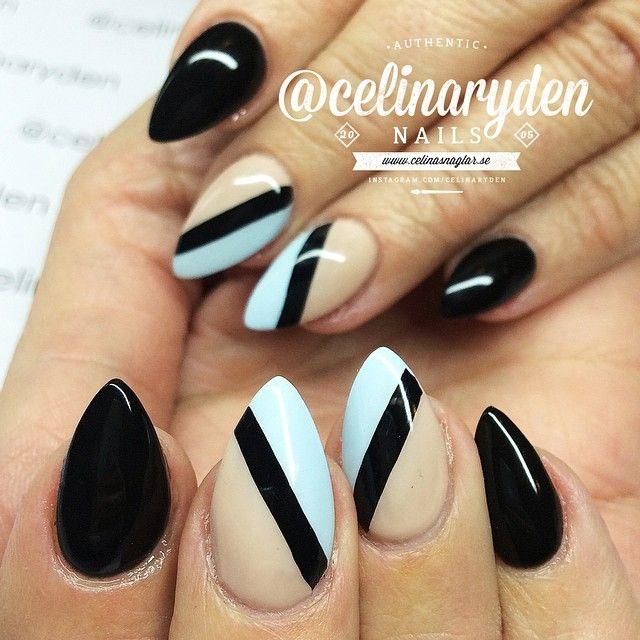 """""""WWW.CELINASNAGLAR.SE (only in swedish). Facebook: www.facebook.com/celinasnaglar. All nails are made with Light Elegance hard gel if nothing else is…"""""""