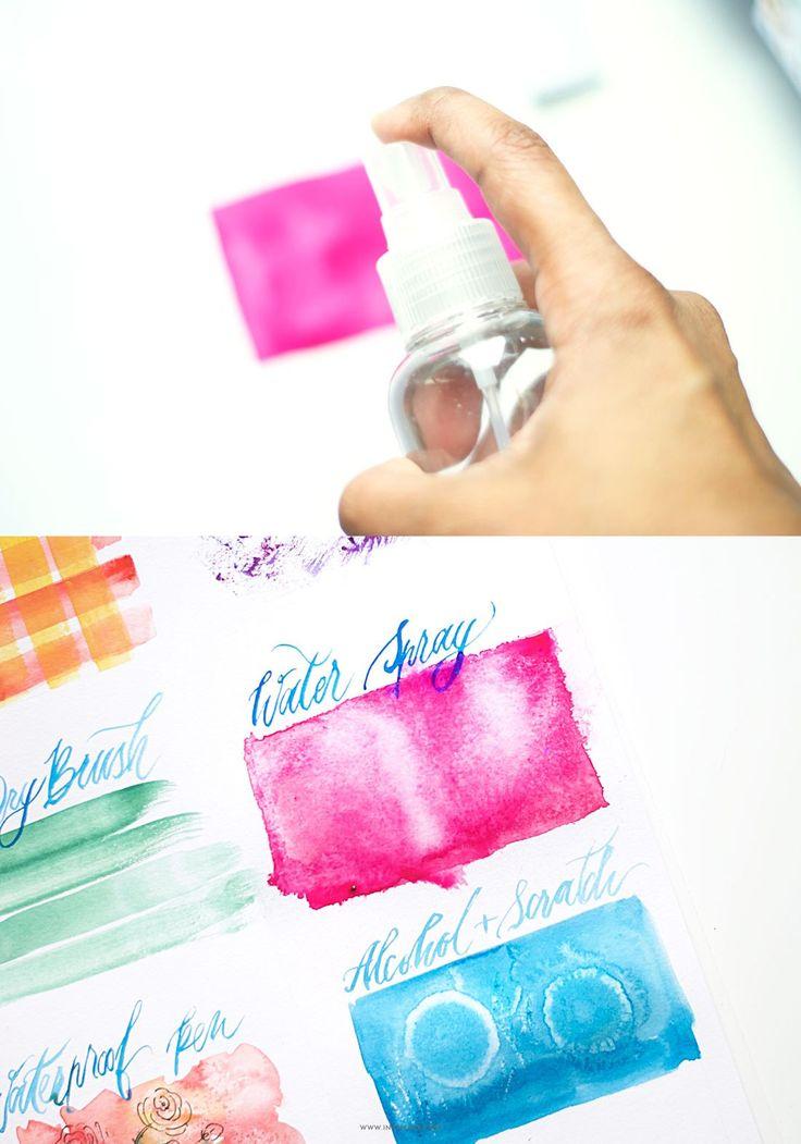 25 b sta id erna om easy watercolor paintings p pinterest for Simple watercolor tutorial