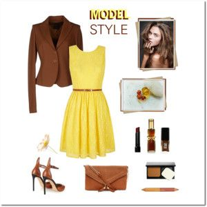 Yellow & Brown