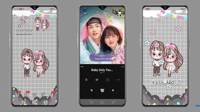 Tema Oppo Dan Vivo Tembus Akar Sweet Couple Desain App Buku Lagu Aplikasi