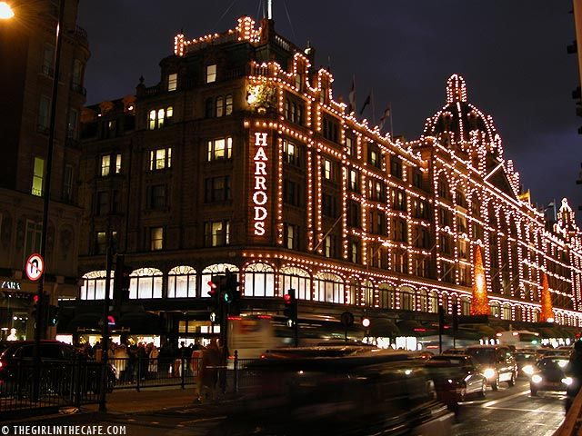 Harrods in London: Spaces, Stores Front, Favorite Places, Harrods London, Department Stores, Harrods Department, London Shops, Shopping, London England