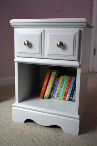 Painted night stand - How to Paint Wooden Furniture