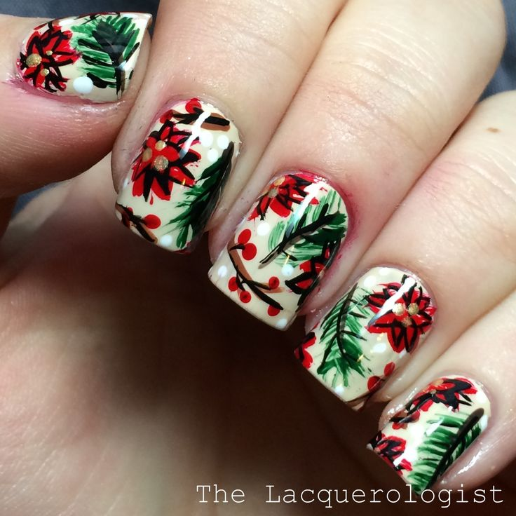 Christmas Nail Art Designs Gallery: 1000+ Images About Nail Art