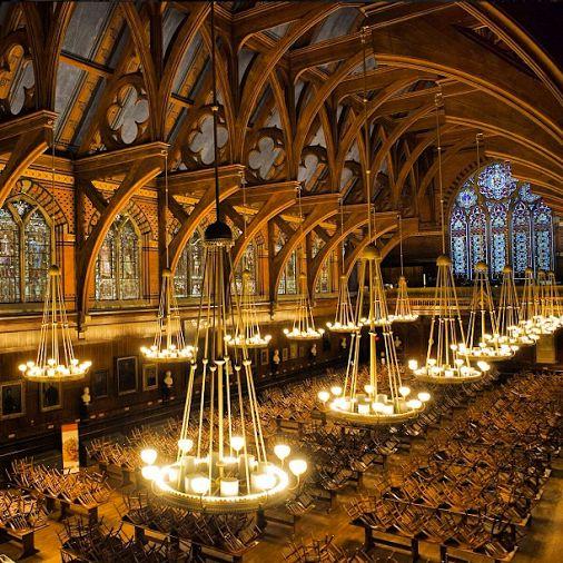 Inside Harvard Freshman Dorms A view inside A...