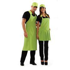PAGAMENTO ANCHE ALLA CONSEGNA Grembiule Camice Uomo Donna da lavoro Sommelier Alimentare Abbigliamento Abiti