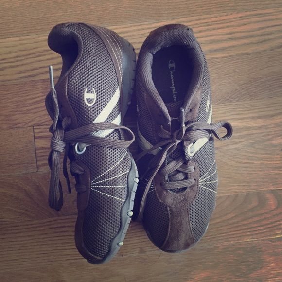 buy popular 4a8bf b6516 Selling this Champion brown sneakers, like new! in my Poshmark closet! My  username