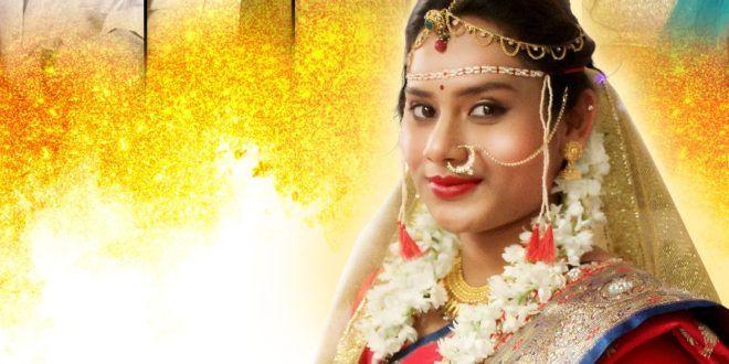 व क रम ग खल यत न क र य कर च य अभ नय च ज गलब द Marathi E Batmya Hoop Earrings Earrings Fashion