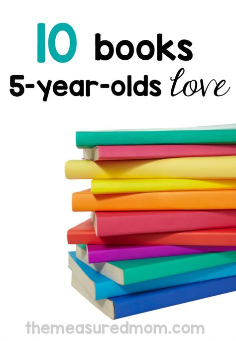 10 of the best books for 5-year-olds