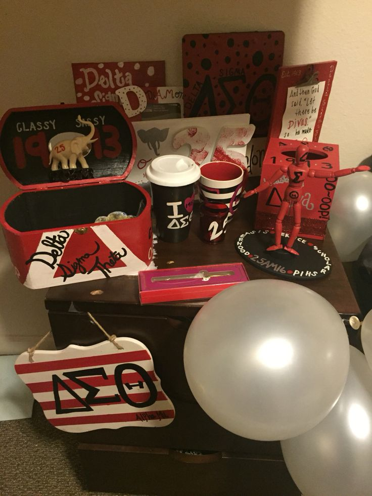 Probate gifts for Delta Sigma Theta Sorority, Inc.