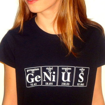 Genius T-Shirt Youth Black now featured on Fab. Getting this for Trevor!